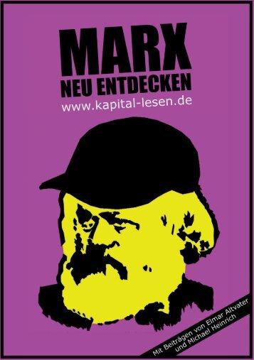 Marx neu entdecken - Die Linke.SDS