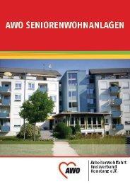Kreisprospekt AWO KV Konstanz e.V. Seniorenwohnanlagen