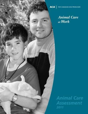 Animal Care Assessment (ACA) - Manual - CQA