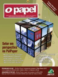 Brasil na PulPaper - Revista O Papel