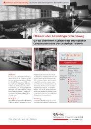 BP_Telekom Magdeburg_050208.indd - GA-tec Gebäude- und ...