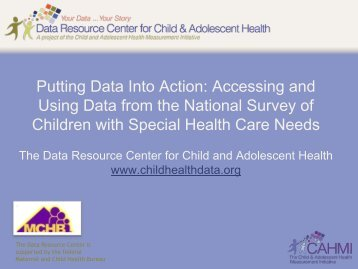 NS-CSHCN - Data Resource Center for Child and Adolescent Health