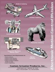 Custom Actuator Products, Inc. - Norman Equipment Co.