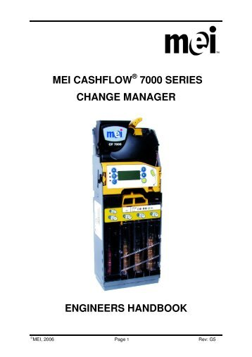 Mei 5 tube changer for cashflow series 7000 coin acceptor, 25,5.