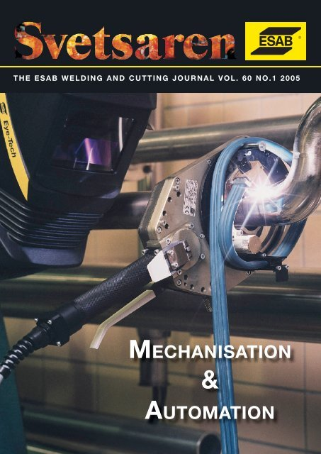 Mechanisation Automation Esab Welding Cutting Products