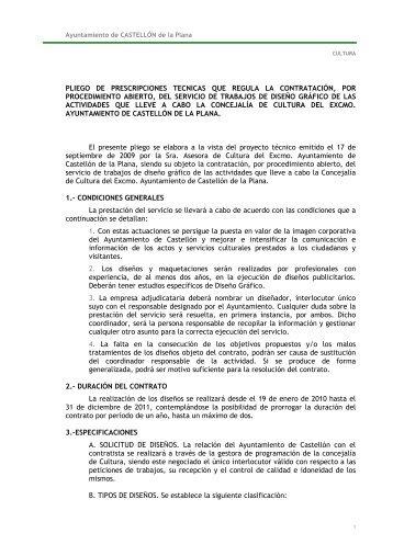 PPT DISEÑO GRÁFICO - Ayuntamiento de Castellón