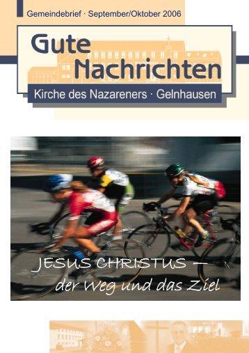 Gute Nachrichten September / Oktober (PDF, 1,39 MB) - Kirche des ...