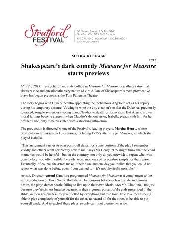 shakespeare dark comedy