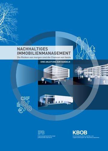 nachhaltiges immobilienmanagement - Bundesamt für Bauten und ...