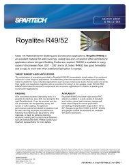 Royalite® R49/52 - Spartech Corporation