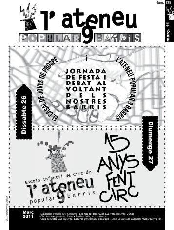 2011 - Ateneu Popular 9 Barris