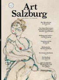 aktuelle Ausstellungen Salzburg mal anders - Zeit Kunstverlag