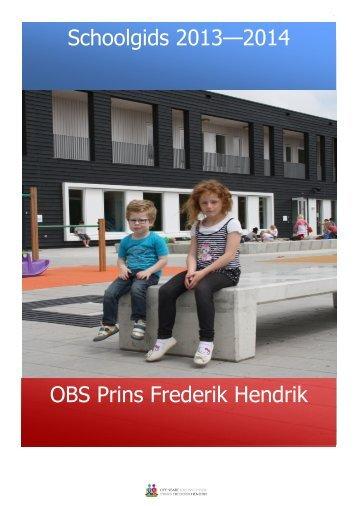 Klik hier voor de Schoolgids - OBS Prins Frederik Hendrik