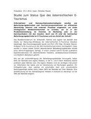 Studie zum Status Quo des