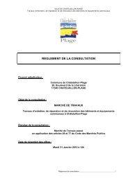 1- RC Entretien Bâtiments Communaux 2012-2015 - Châtelaillon ...