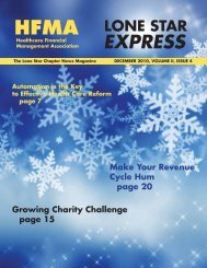 EXPRESS - HFMA Lone Star Chapter