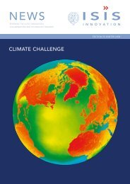 CLIMATE CHALLENGE - Isis Innovation