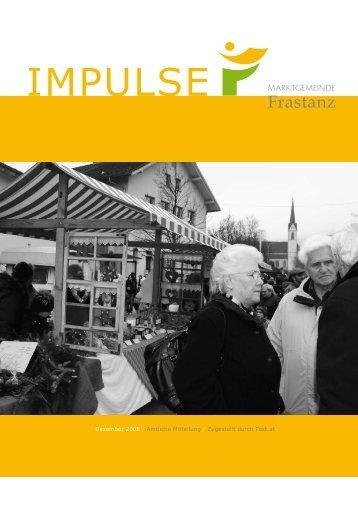 Impulse - Marktgemeinde Frastanz