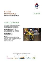 Kulturskoletilbud 2013-2014