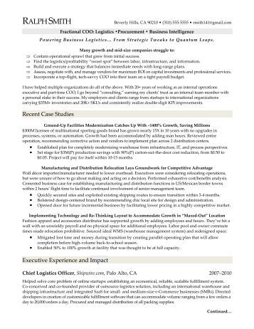 SAP MM Sample Resme