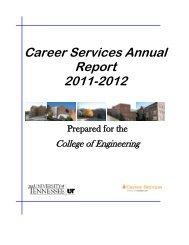 2011-2012 UT Engineering Salaries - Career Services