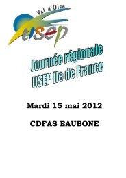 journée escrime usep 95 journée régionale 15 mai 2012 - USEP 94