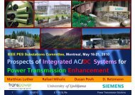 Power Transmission Enhancement - Siemens