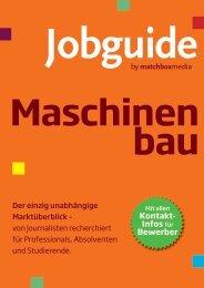 Maschinen bau - Jobguide