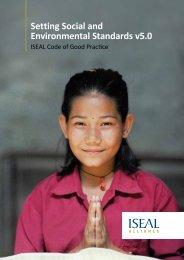 ISEAL Code of Good Practice