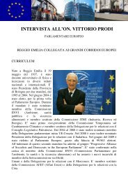 intervista al parlamentare europeo on. vittorio prodi - lostatoperfetto.it