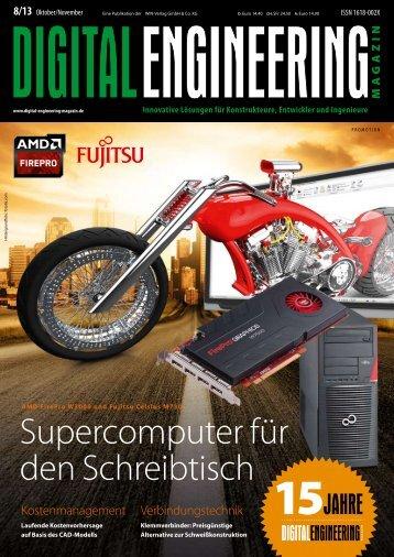 Leseprobe Digital Engineering Magazin 2013/08