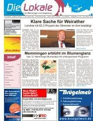 Download Ausgabe Mai 2012 - Lokale Zeitung Memmingen