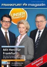 Nr. 1 März 2011 - CDU-Kreisverband Frankfurt am Main