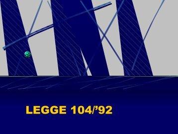 LEGGE 104/'92 - WikiMotorio