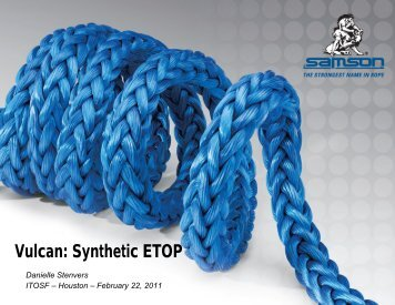 Synthetic ETOP - Samson Rope
