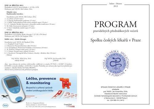 leden - březen 2013 - Všeobecná fakultní nemocnice v Praze