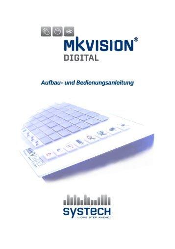 Bedienungsanleitung MKVision® digital