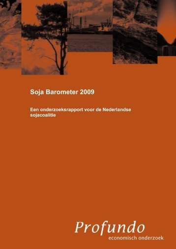 Soja Barometer 2009 : een onderzoeksrapport voor de Nederlandse