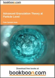 Advanced Granulation Theory at Particle Level