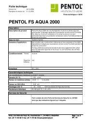 PENTOL FS AQUA 2000