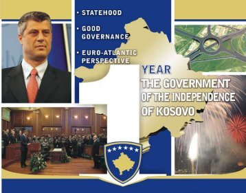 1 Year of the Government of Independent Kosovo