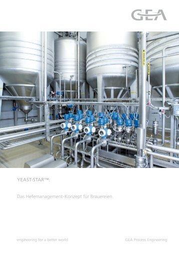 Das Hefemanagement-Konzept für Brauereien. YEAST-STAR™:
