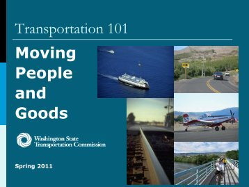 transportation 101-a brief overview of funding and planning in ...
