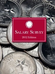 TAC Salary Survey 2012 - Texas Association of Counties
