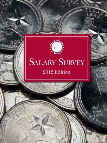TAC Salary Survey 2012 - Texas Association of Counties