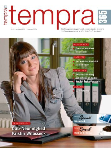 Bürotechnik - Bundesverband Sekretariat und Büromanagement e.V.