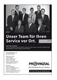 Unser Team für Ihren Service vor Ort. - Gemeinde Flintbek