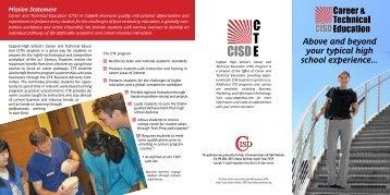 CTE Brochure - Coppell Independent School District