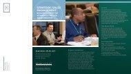strategic sales management - Executive Education - Michigan State ...