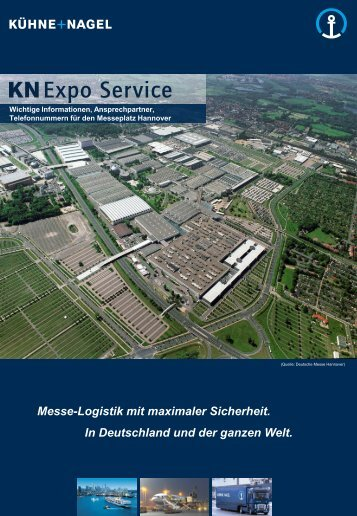 Standort Hannover - Messegelände - Kuehne + Nagel